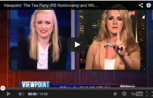 Viewpoint: The Tea Party IRS Nontroversy and Where's the Birth Certificate?!