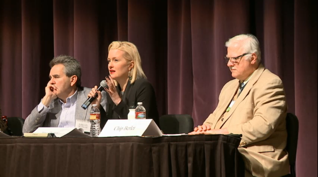 #CWA2015 Panel: Conspiracy Theroists Make the Best Storytellers